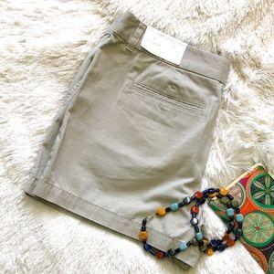 "LOFT 4"" Original Fit Khaki Shorts 10"